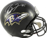 Ray Lewis Signed Baltimore Ravens Helmet