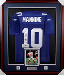Eli Manning Hand Signed Jersey-Steiner Sports