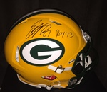 Eddie Lacy Autographed Green Bay Packers Authentic Pro Revolution Helmet