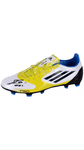 LIONEL MESSI AUTOGRAPHED BARCELONA ADIDAS F50 YELLOW SHOE