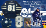 Phil Kessel Autographed Toronto Maple Leafs Signed Jersey
