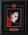 Tony Esposito signed Chicago Blackhawks 8x10 Framed