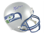 Steve Largent Signed Seattle Seahawks Helmet
