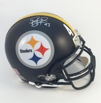Troy Polamalu Signed Pittsburgh Steelers Custom Matte Pro Helmet