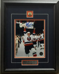 Mike Bossy Autographed New York Islanders 8x10 framed