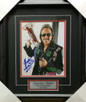 Jimmy Hart With Megaphone Signed WWF Framed 8x10
