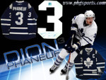 Dion Phaneuf Autographed Toronto Maple Leafs Signed Jersey
