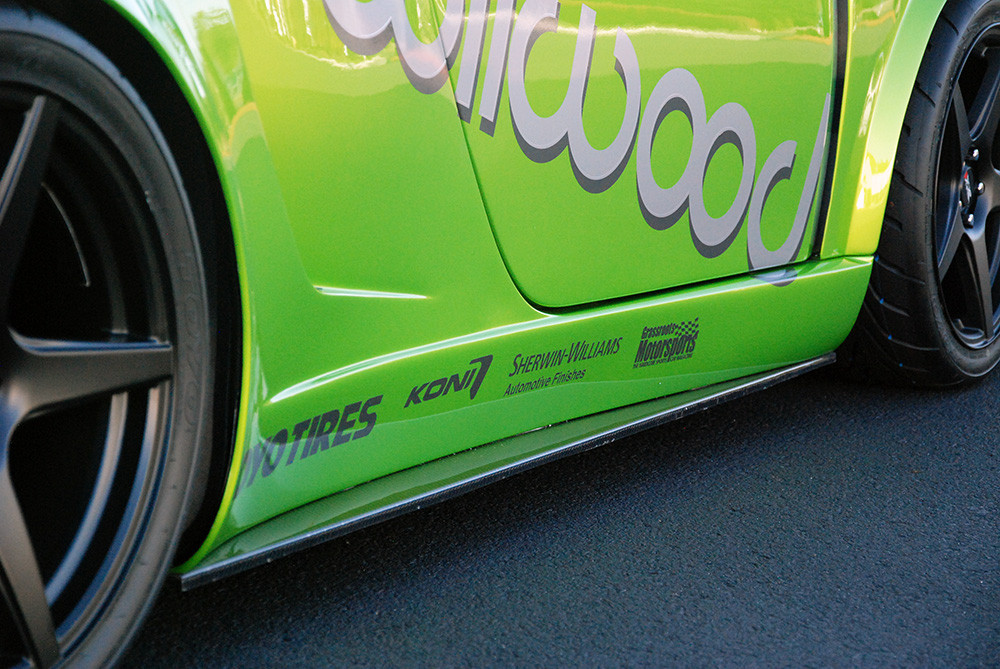 #80495 - 818 Carbon Fiber Rocker Extensions
