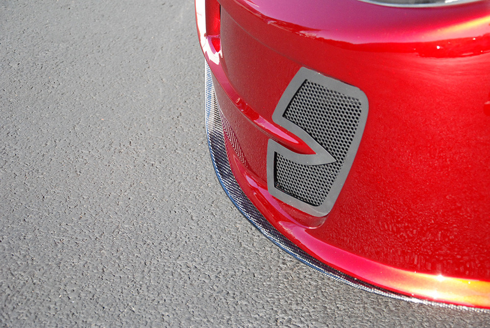 #80717 - 818 Carbon Fiber Front Splitter - Street Version