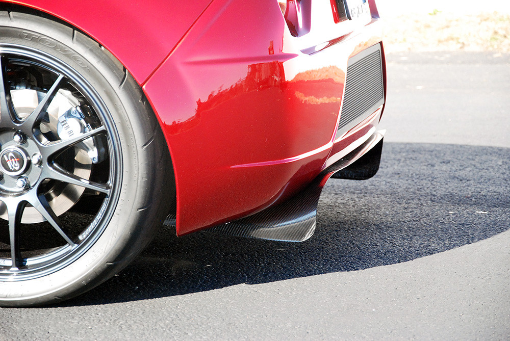 #80677 - 818 Carbon Fiber Rear Diffuser