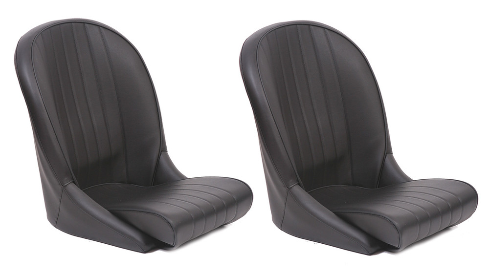 #16212 - Leather Roadster Seats - Black