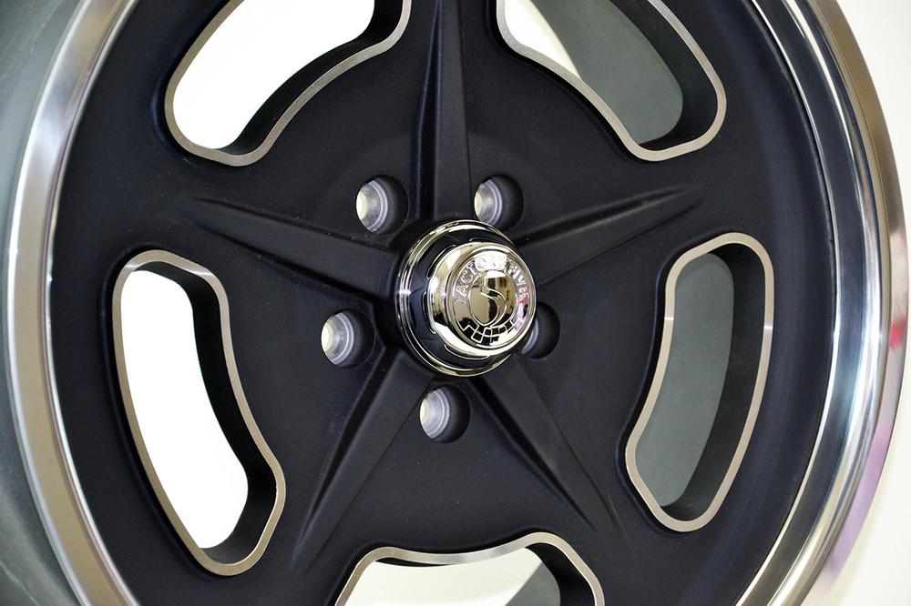 "#33949 - 18"" and 20"" '33 Bonneville Style Wheels - Black"
