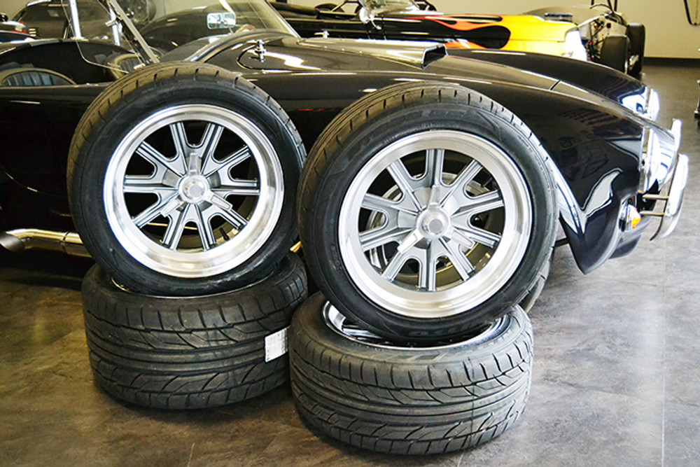 """17"""" Halibrand Style Wheels & Tire Package"""