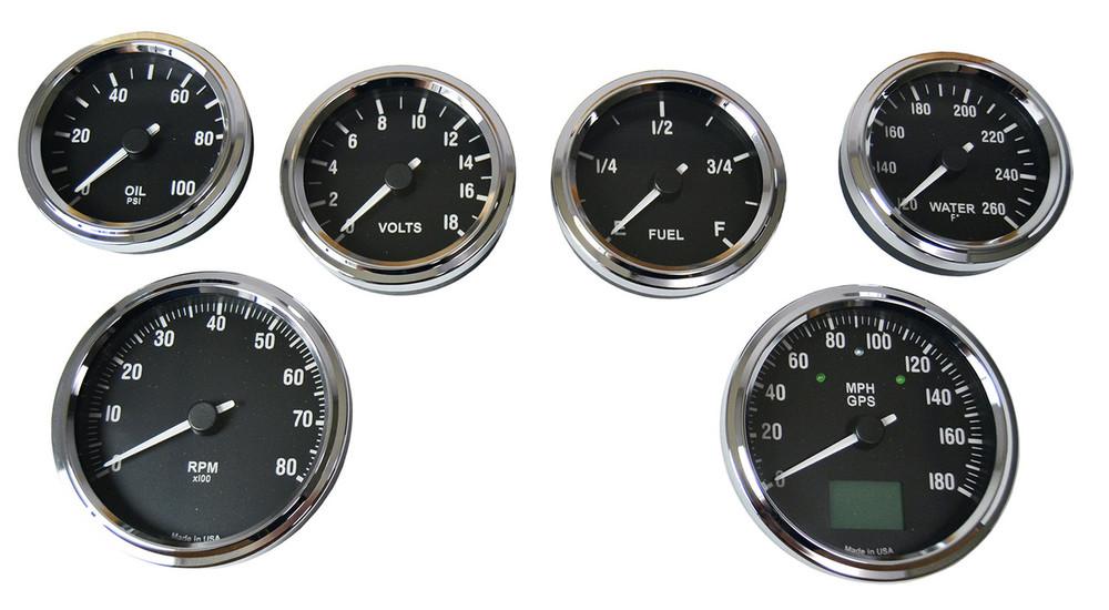 #60311 - Type 65 Coupe GPS Gauge Set - MPH