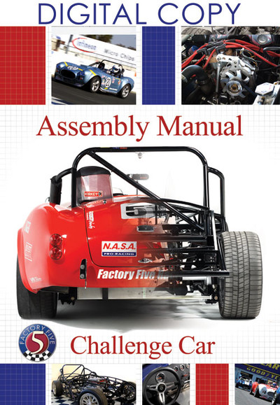 #15071 - Challenge Series Racer Assembly Manual - Digital Copy (PDF)