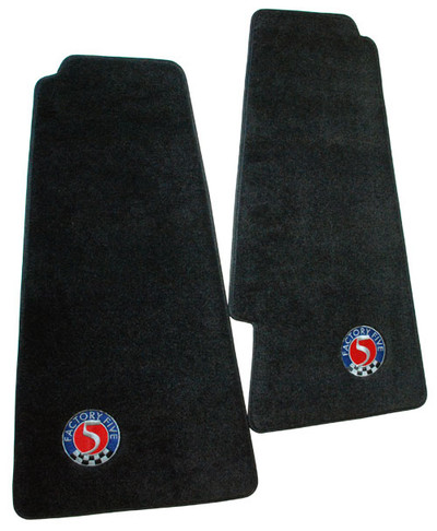 #33697 - Hot Rod Floormats with Factory Five Logo