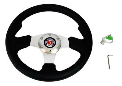 #80595 - Sport Leather Steering Wheel