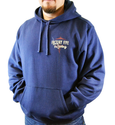 #15920 - Factory Five 50s Style Logo Hoodie