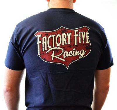 Factory Five 50s Style Shield Logo T-Shirt