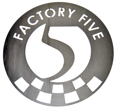 "#16372 - 15"" Factory Five Steel Garage Sign"