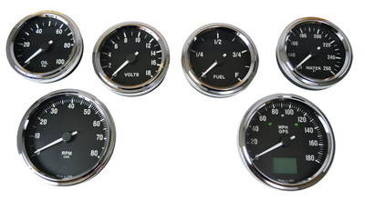 #60311 - Type 65 Coupe GPS Gauge Set - MPH