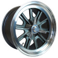 "17"" x 9"" Vintage Halibrand Replica Wheels"