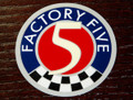 Factory Five Logo Sticker