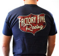 Factory Five 50s Style Shielf Logo T-Shirt