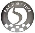 """15"""" Factory Five Steel Garage Sign"""