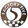 "12"" Factory Five Aluminum Garage Sign"
