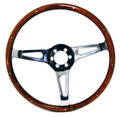 "14"" Wood Rimmed Steering Wheel"