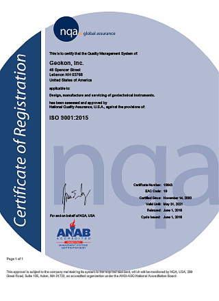 ISO 9001:2015 Certificate 10643