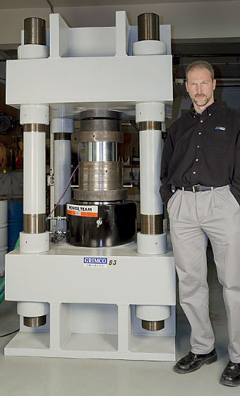 GEOKON employee, Jim Greger.