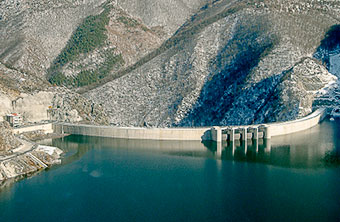Photo of Tsankov Kamak Dam, Devin, Bulgaria.