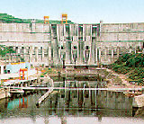 Photo of Baishan Dam.
