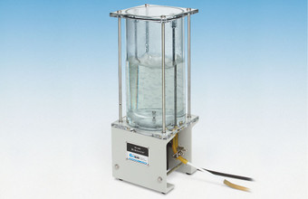 Model 2100 Nold DeAerator shown degassing a liquid.