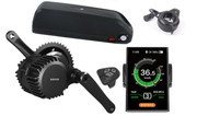 500W Bafang Mid Drive Crank Motor Lithium Battery Electric Bike Conversion Kit