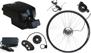 "500W 26"" Seat Post Lithium Battery Electric Bike Conversion Kit"