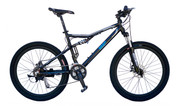 invisiTRON X1 Mountain Electric Bike Full Suspension