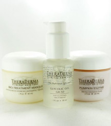 Theraderma Oily Acne Skin 3 piece Extra Care System