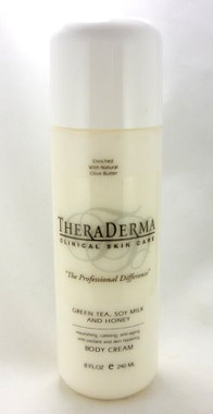 Theraderma Green Tea, Soy Milk, Honey Body Cream