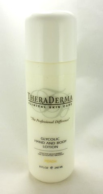Theraderma Glycolic Clinical Skin Care Hand & Body Lotion