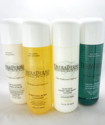 Theraderma Glycolic Hand and Body Lotion Homecare System
