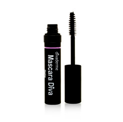 Divaderme Black Brush Eye Mascara Diva