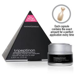 AminoGenesis Tripeptinon Facial Lift Anti Aging Capsules