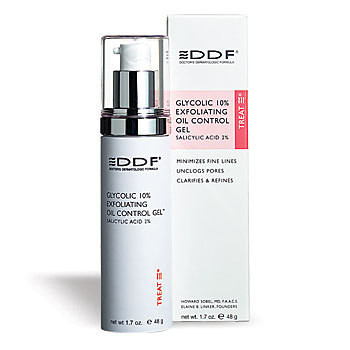 DDF Glycolic 10 Exfoliating Oil Control Gel
