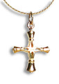 Small Handbell Cross Charm - GV