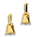 Handbell Post Earrings - GV
