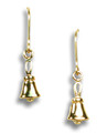 Mini Handbell Earrings -- GV