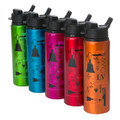 "Sports H2Go Bottle - w/ ""Techniques"" design (5 colors)"